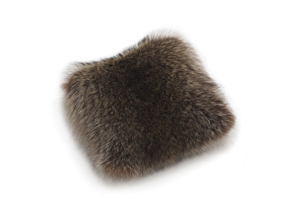 Raccoon Fur Cushion
