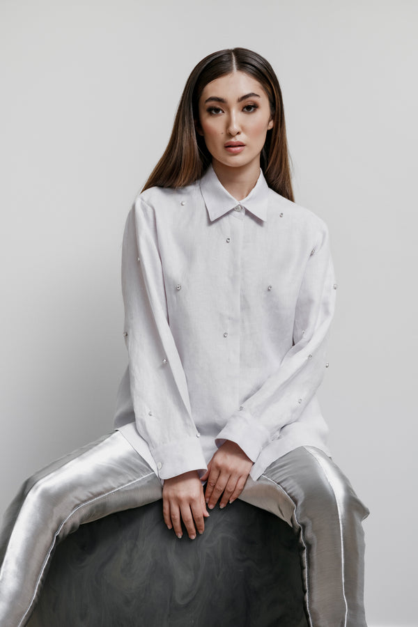 Jane Shirt with Scattered Gems