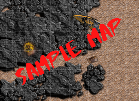 Sample Battle Map - Mini Deck & Map Pack