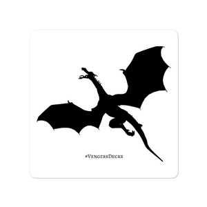 Dragon of Venger's Realm Sticker