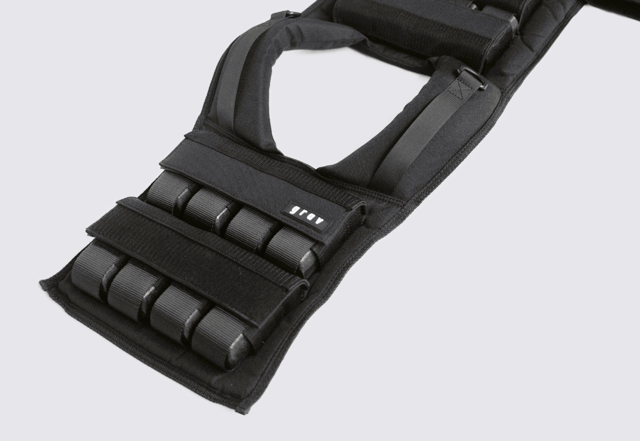 Removeable weights in Grav Weight Vest