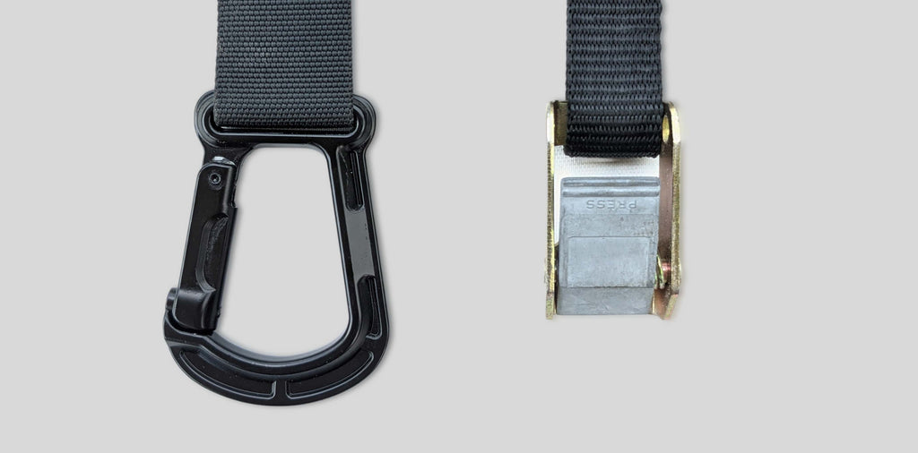 Ultra strong zinc allow carabiner from grav gymnastic rings compare to regular ring