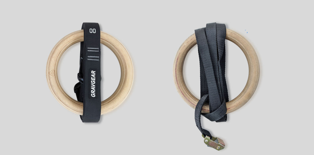 Grav gym rings easy to keep and maintain compare to regular buckle system rings