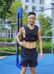 Weighted Vest Singapore Customer using for running