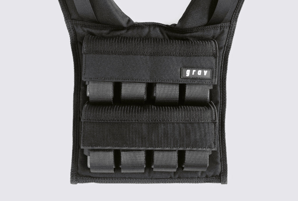 Weight vest with strong velcro strap