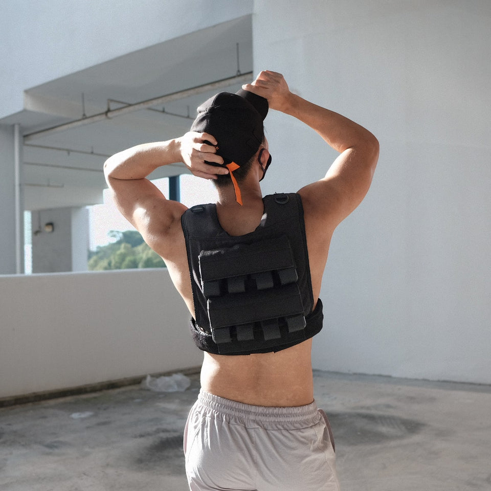 Grav weight vest 16kg fully adjustable