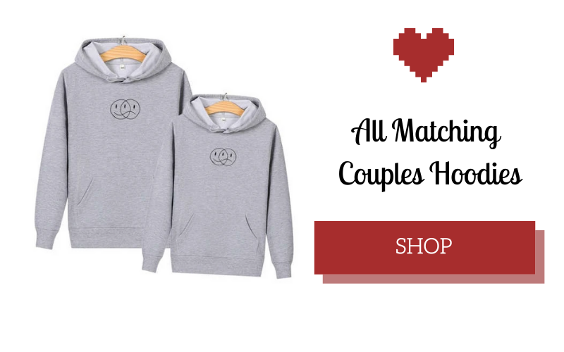 couple hoodie gay smiley