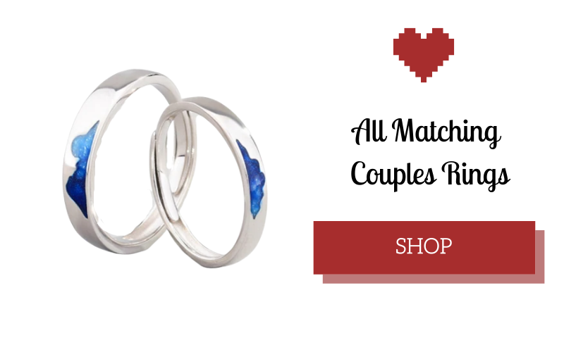 Rings Couple lesbian gay gift