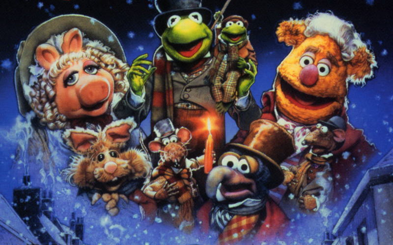 Muppet show christmas movie