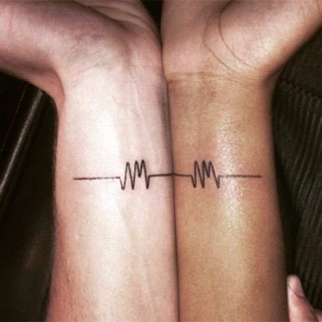 Cardiologist Matching Couples Tattoos