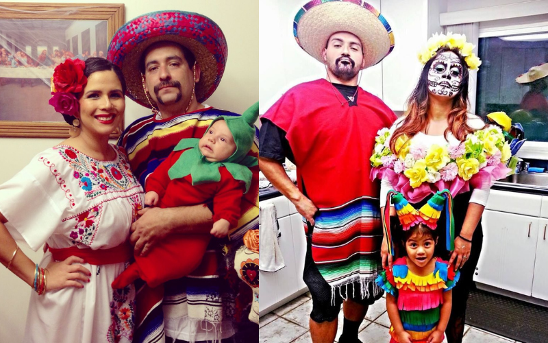 Best Family Halloween Costume Mexican 2020