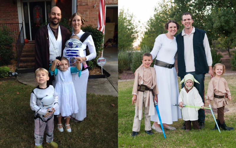 Family 31st of october costume