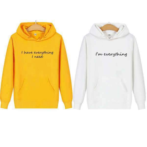 Matching Couple Hoodies All I Need - Matching Outfits
