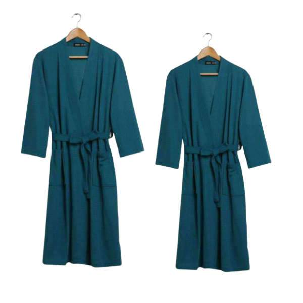 Matching Couple Loungewear Bath Robe - Matching Outfits