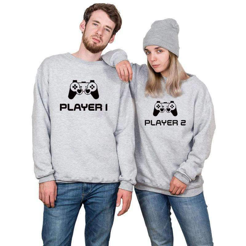 Matching Couple Sweater Gamer - Matching Outfits