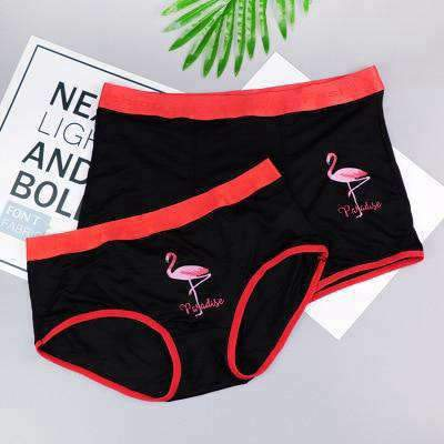 Matching Couple Underwear Flamingo - Matching Outfits