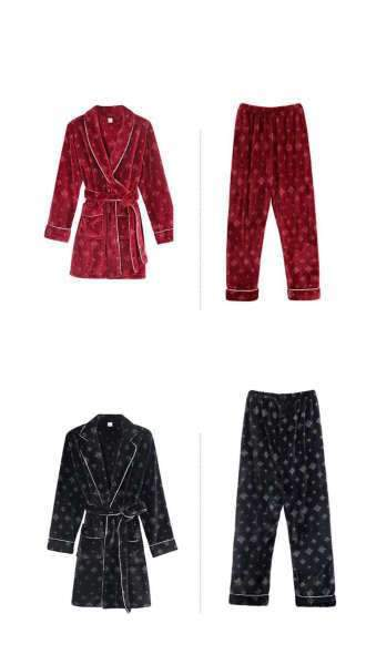 Matching Couples Pyjamas Winter Set - Matching Outfits