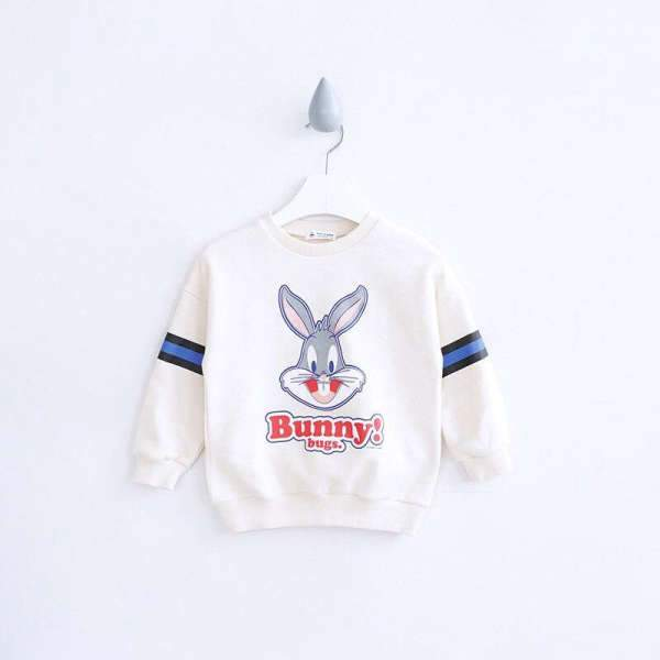Matching Mom And Son Bunny Sweatshirt White - Matching Outfits