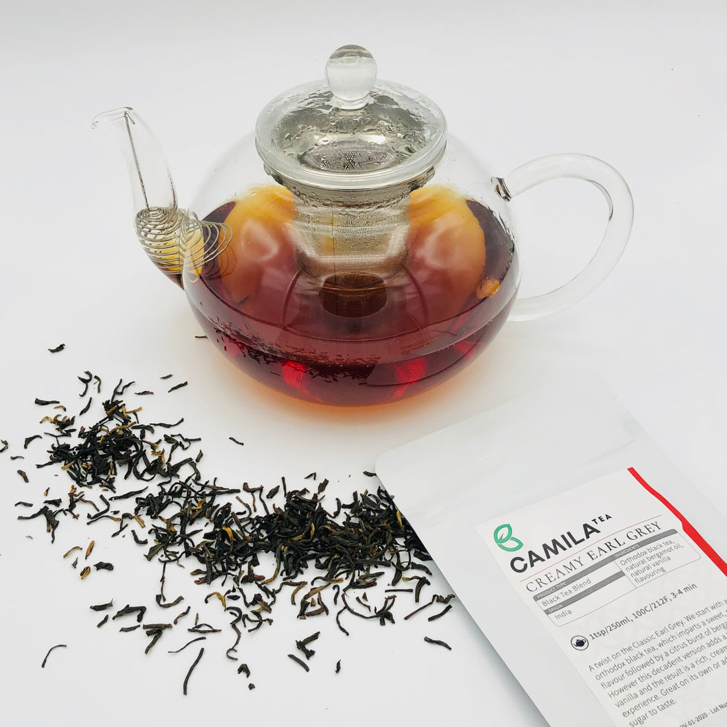 Creamy Earl Grey | Black Tea Blend | Notes: Vanilla, Citrus, Malt