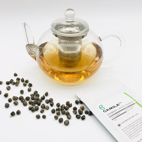 Jasmine Green Pearls | Green Tea Blend | Notes: Floral, Sweet