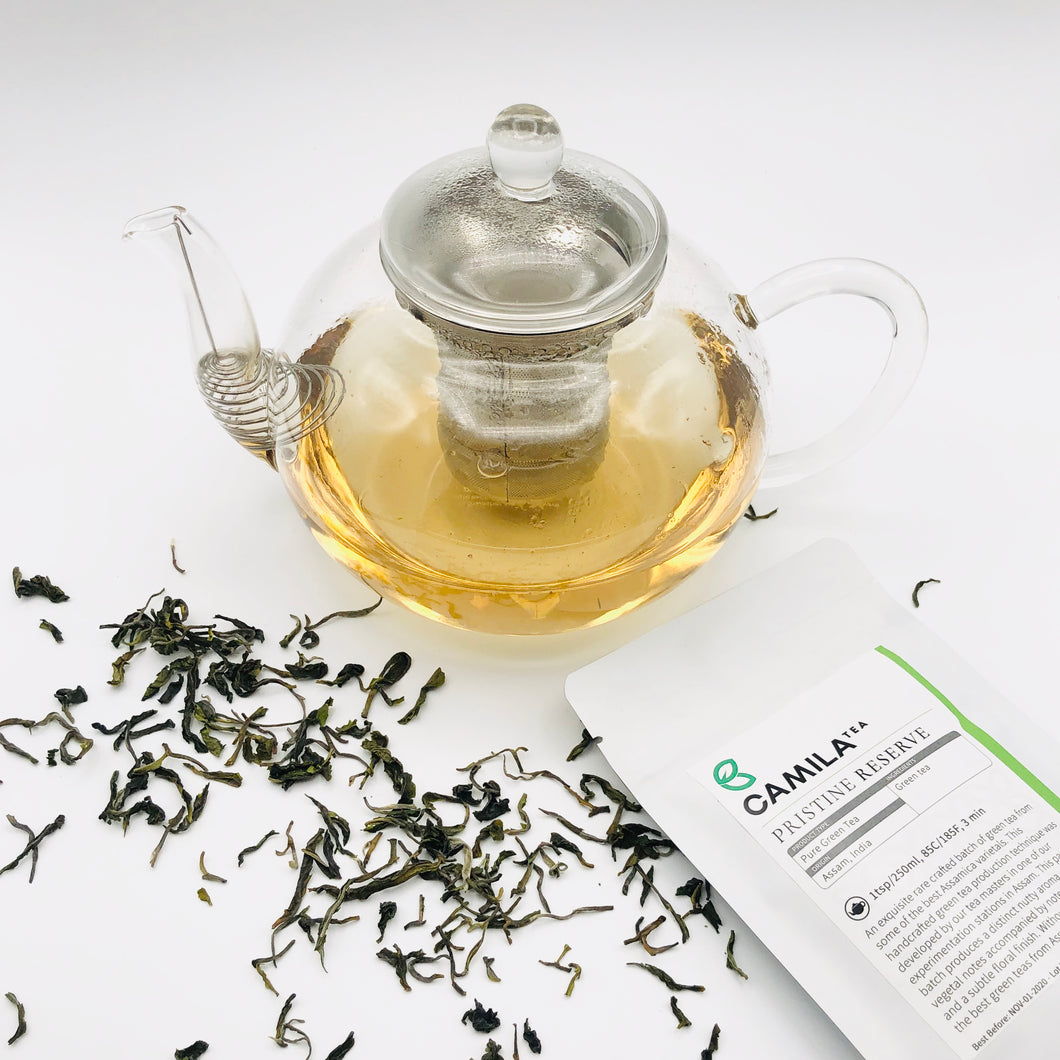 Pristine Reserve | Pure Green Tea | 70% DISCOUNT IN SHOPPING CART