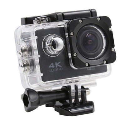 Camera Sport ActionCam UltraHD 4K @ 30fps WiFi 16.0MP Black Pachet Complet Cu Accesorii