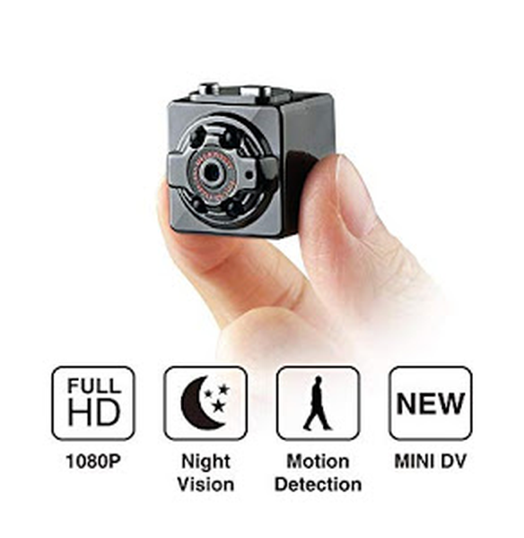Mini camera Full HD SQ8 cu senzor de miscare si stabilizator imagine - Tenq.ro