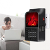 Aeroterma portabila Flame Heater 500 W, 2 niveluri temperatura, display digital - Tenq.ro
