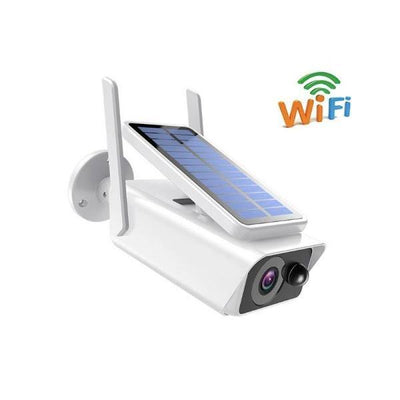 Camera de supraveghere IP Wireless HD cu panou solar - Tenq.ro