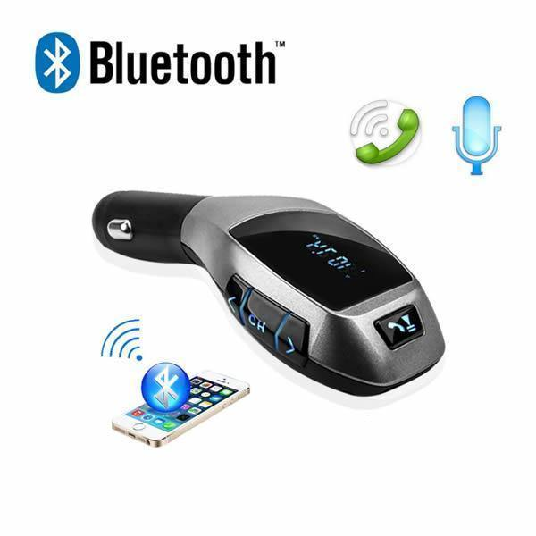 Car Kit Auto Bluetooth cu functie de modulator FM, model X6 + Telecomanda - Tenq.ro