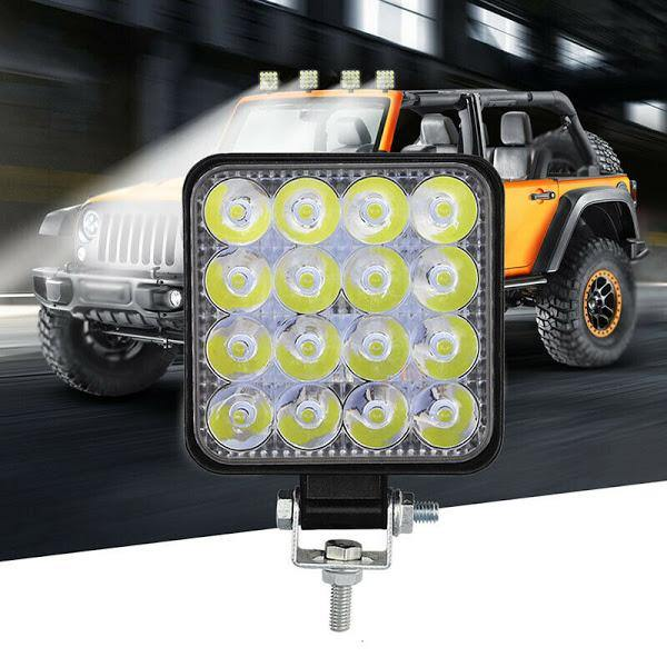 Proiector LED auto offroad 48W - Tenq.ro