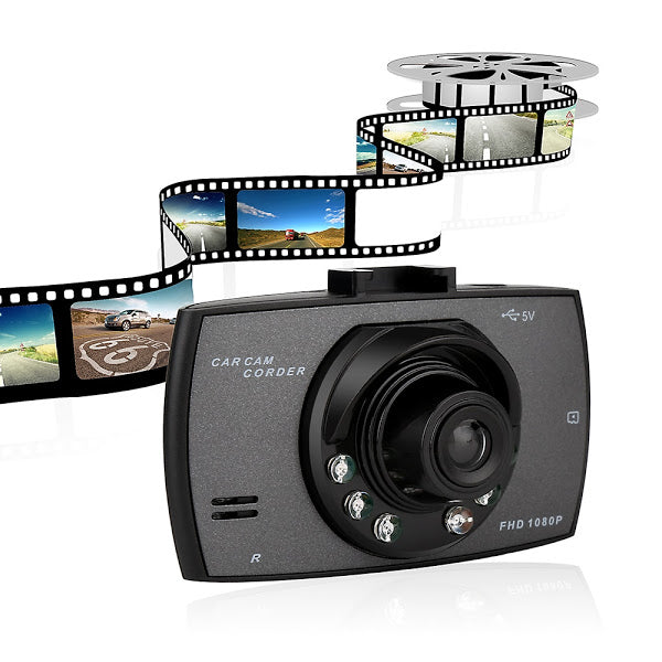 Camera video auto, Full HD 1080P, DVR LCD 2.4 inch, Night Vision G-Sensor