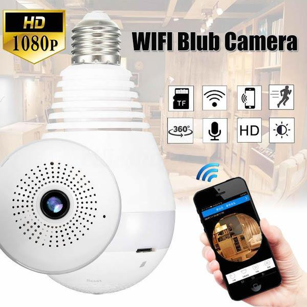 Camera de supraveghere in bec - IP Wireless HD 960P Panoramica 360 grade - Tenq.ro