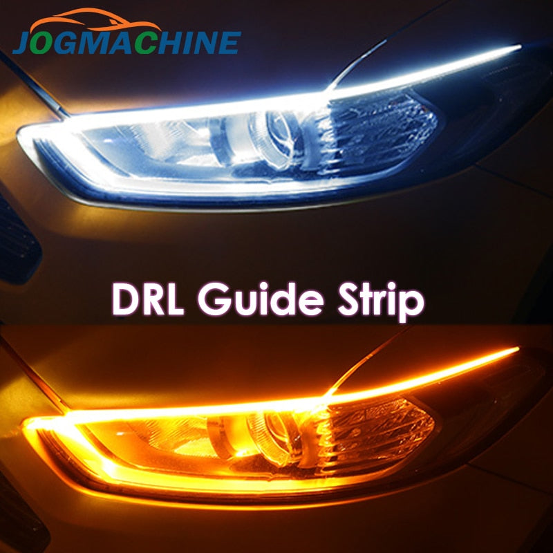 White to yellow LED Car Strips - Universal