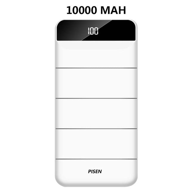 PISEN - Power Bank 10000/20000 MAh - Fast charger
