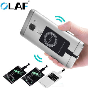 Universal Qi Wireless Charger Adapter Receiver