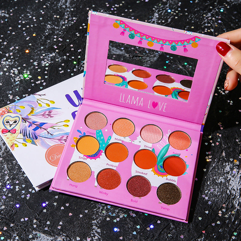 16 Colors Deer Eyeshadow Palette