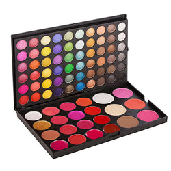 82 Colors Lip Gloss Eyeshadow Palette