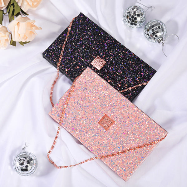 15 Colors Star Necklace Bag Eyeshadow Palette