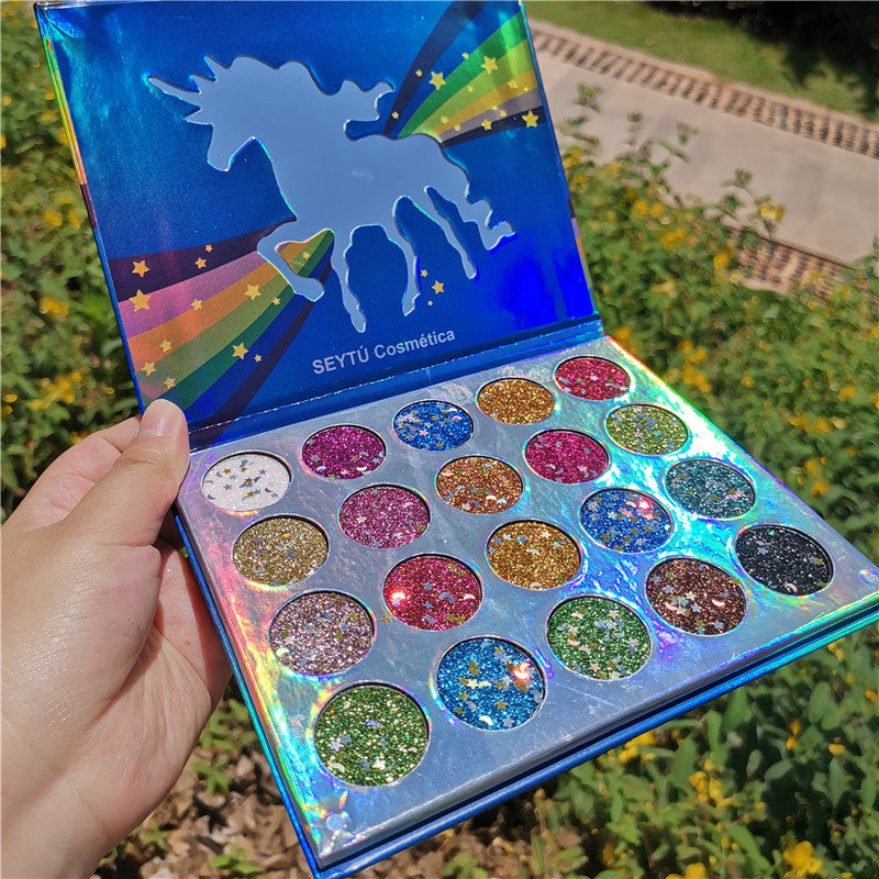 20 Colors Sequins Eyeshadow Palette