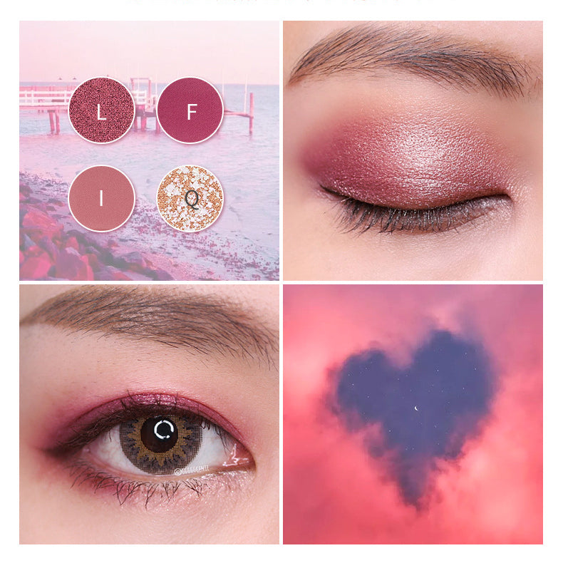 18 Colors Desert Rose Eyeshadow Palette
