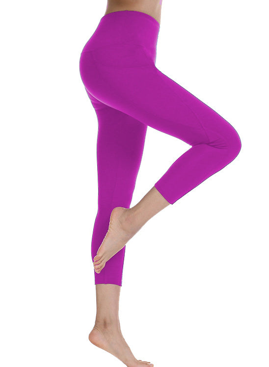 Women High Waist Sports Pants Pocket Yoga Leggings