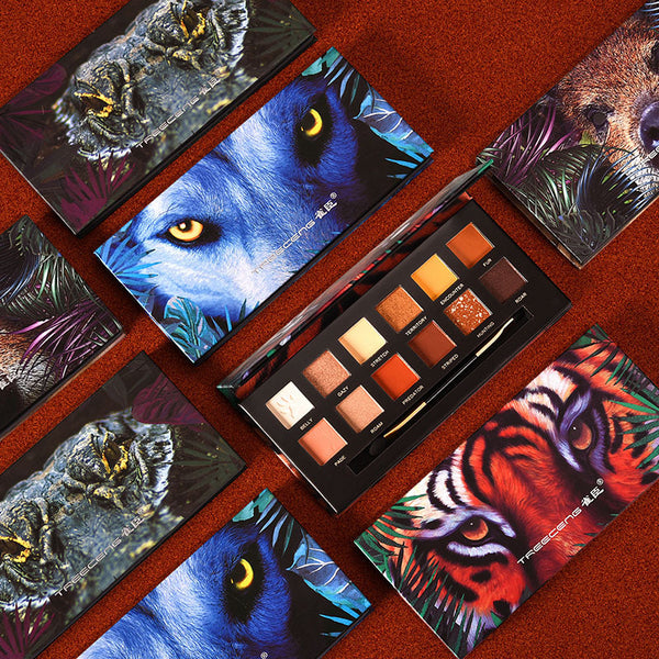12 Colors Animal Eyeshadow Palette