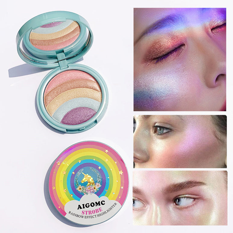 5 Colors Unicorn Eyeshadow Palette