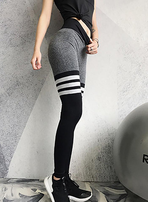 Web Celeb Elastic Tight High Waist Yoga Leggings