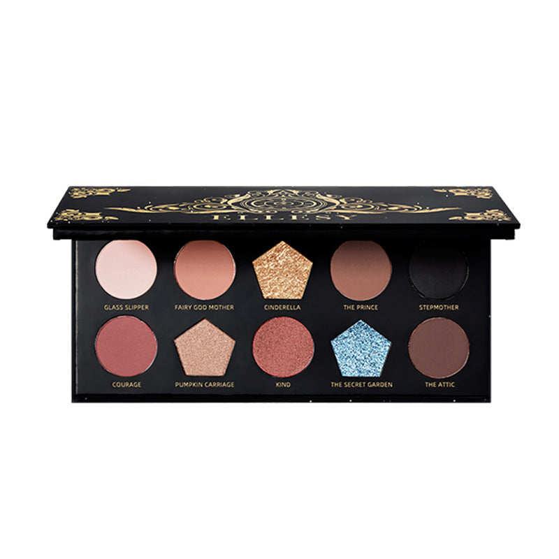 10 Colors Eyeshadow Palette