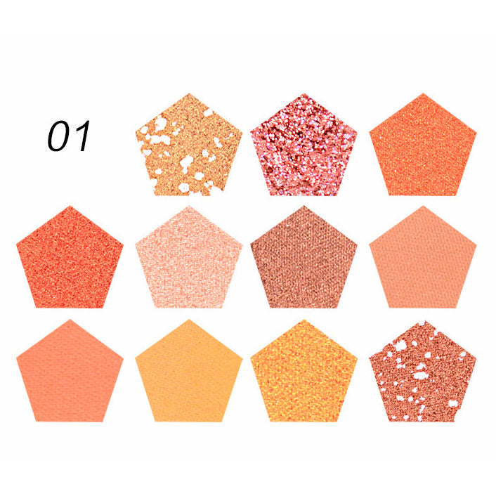 11 Colors Star Magic Eyeshadow Palette