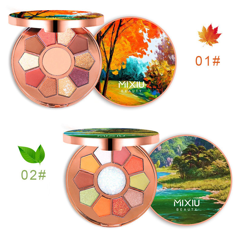 11 Colors Nature Magic Eyeshadow Palette