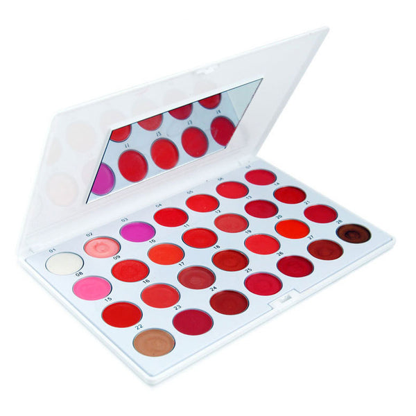 28 Color Lip Gloss Palette