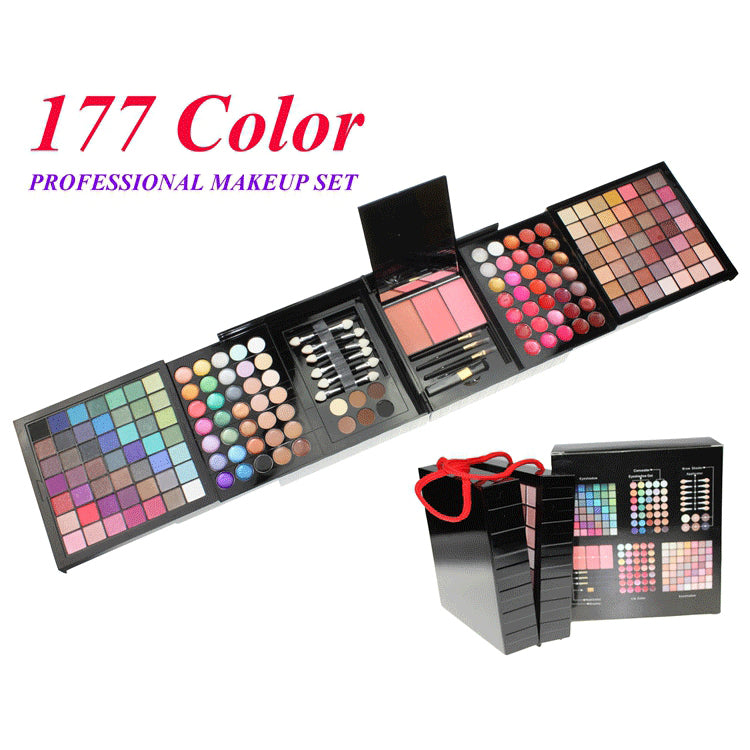 177 Colors Eyeshadow Palette Professional Makeup Set